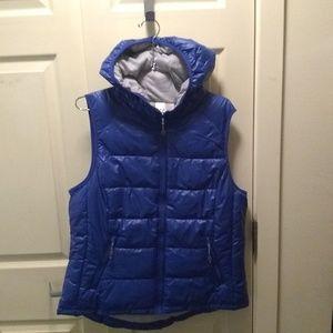 Tangerine Puffer Vest - XL - New